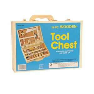Tool Chest Wooden 15 Pieces