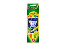 Crayola Extreme Colors Pencils 8 Pack