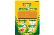 Crayola Chalk N Duster Pack