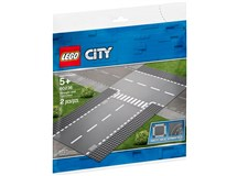 Lego City 60236 Straight & T-junction Plate