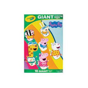 Crayola Giant Coloring Pages Peppa Pig