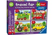 Ravensburger Travel Far My First Puzzles 2-3-4-5 Pieces