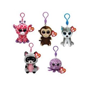 Beanie Boo's Clip On Assorted