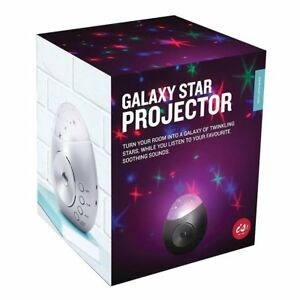 Galaxy Star Projector Sound Machine