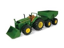 John Deere Monster Treads Tractor & Wagon