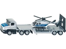Siku Oange Low Loader With Helicopter 1610