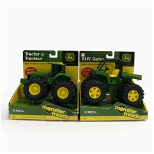 John Deere Monster Treads Vehicles With Lights & Sounds Assorted
