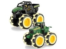 John Deere Monster Treads 20cm Lightning Wheels Vehicles Assorted