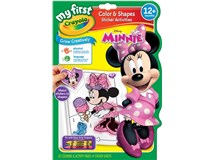 Crayola My First Color & Activities Minnie Mouse Book