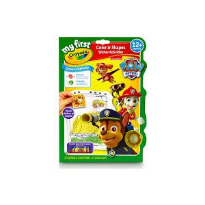 Crayola My First Color & Activities Paw Patrol Book
