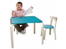 Jolly Kidz Scandi Table & Chairs Teal