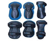 Globber Junior Set Of 3 Protection Pads Blue