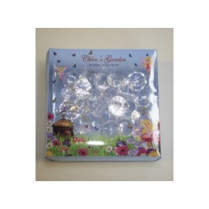 Chloe's Garden Plastic Diamonds Clear