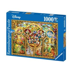 Ravensburger Disney The Best Disney Themes 1000 Piece Puzzle