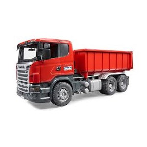 Bruder Scania R-series Tipping Container Truck 1:16