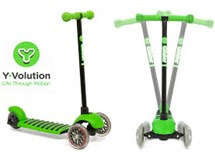 Y-volution Glider Xl Scooter Green