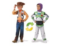 Toy Story Woody To Buzz Reversible Costume Size 3-5