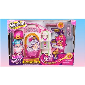 Shopkins Wild Style Kennel Cuties Beauty Parlor