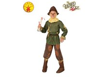 Wizard Of Oz Scarecrow Costume Size Large 8-10