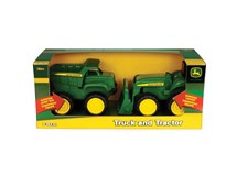 John Deere Big Scoop Dump Truck & Tractor Set